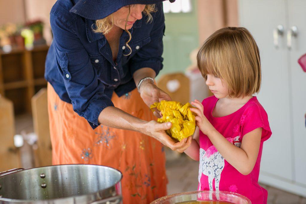 Tucson Waldorf School Fabric Dye