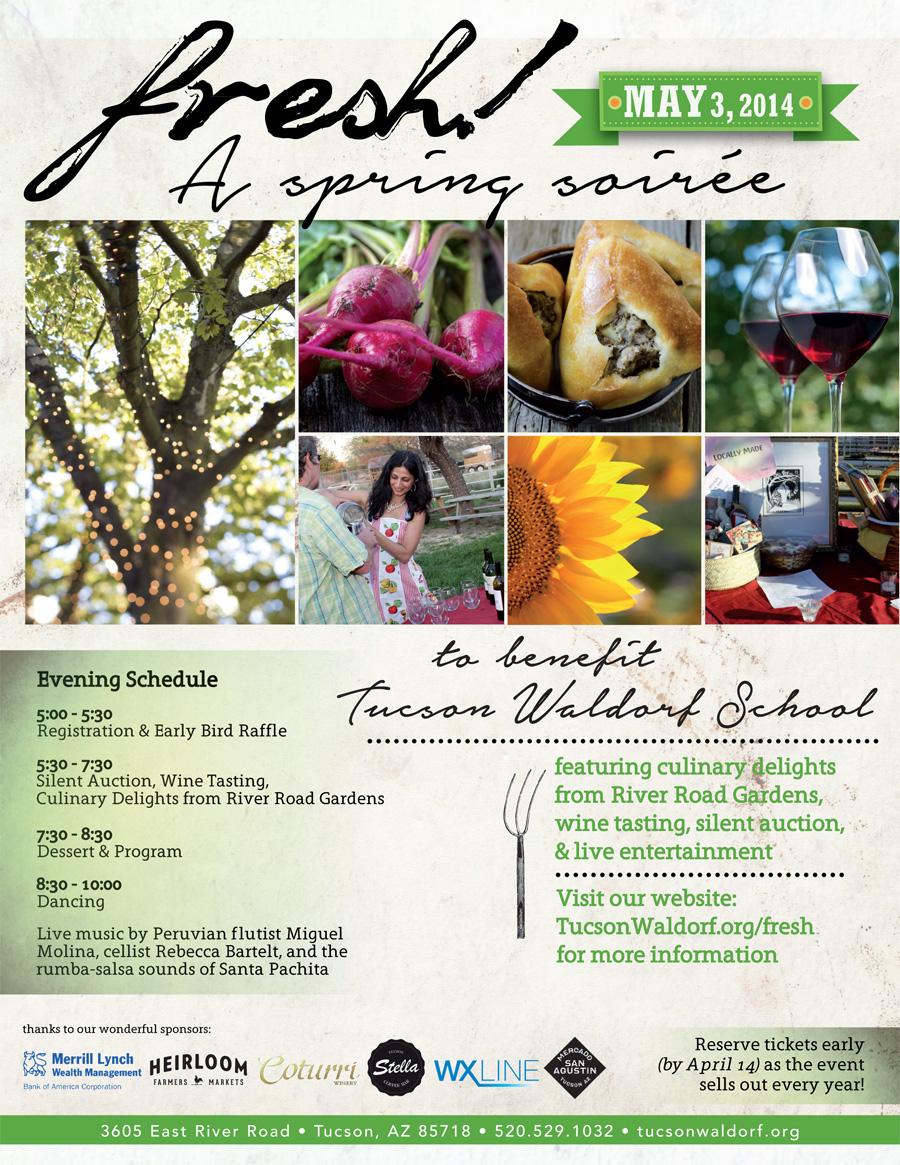 Fresh Spring Soiree 2014 at Tucson Waldorf School